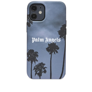 유럽직배송 Palm Angels Palm Angels Palms Boulevard Logo iPhone 12 Case PMPA029S21PLA0041001